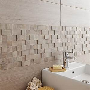 Leroy Merlin 15 Aout : faience beige salle de bain 15 mosa239que mur havana 3d ~ Dailycaller-alerts.com Idées de Décoration