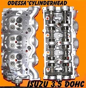 Isuzu Trooper Rodeo Axiom 3 5 V6 Dohc Cylinder Heads