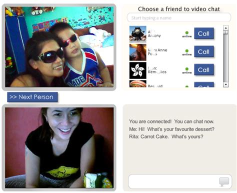 vchatter launches  pg rated version  chatroulette
