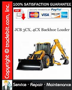 Jcb 3cx  4cx Backhoe Loader Service Repair Manual Download