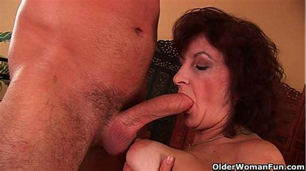 #Grandma #With #Big #Tits #And #Hairy #Pussy #Gets #Facial