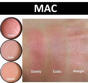 Favourite Blushes from MAC- Dainty Mineralized, Cubic ...
