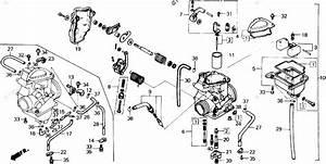 250 Quad Carburetor Diagram : honda atv 1986 oem parts diagram for carburetor ~ A.2002-acura-tl-radio.info Haus und Dekorationen