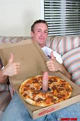Big cock jim pizza sausage