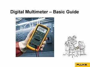 Digital Multimeters - Basic Guide By Fluke India