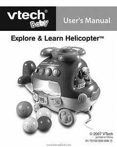 Vtech Explore  U0026 Learn Helicopter