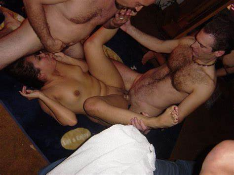Student Damn Fucked Tough In The Pussy Two Guys