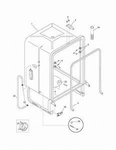 Frigidaire Fdb1500lfc0 Dishwasher Parts