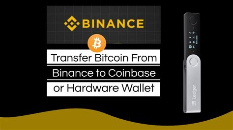 I will show you how to withdraw bitcoins to cash using a broker (namely, coinbase) and through a your crypto coins or fiat money with the platform in question, without the interference of any third party. How to Transfer Bitcoin From Binance to Coinbase - YouTube