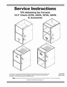 Goodman Gmvm97 Service Manual