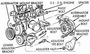 My 1991 Plymouth Acclaim 2 5l Tbi Engine Has An Alternator T