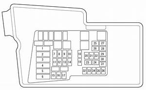 2007 Mazda 6 Fuse Box Diagram