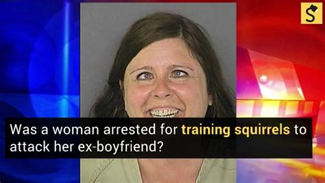 foto de FACT CHECK: Woman Arrested for Training Squirrels to