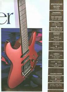 Ibanez Rules 1988 Us Catalog