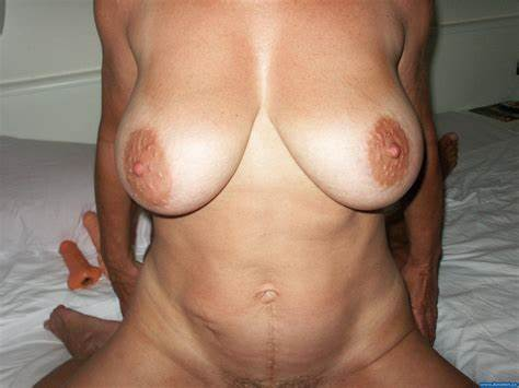 Aunt Saggers Hanging Titties Camera Immense Life Nipple