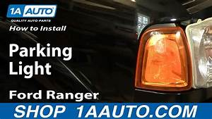 How To Install Replace Parking Light Ford Ranger 01