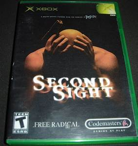 Second, Sight, Xbox, Complete