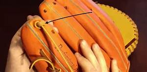 Baseball Glove Finger Lacing Diagram