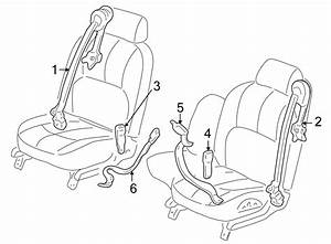Buick Lesabre Seat Belt Receptacle  Blue