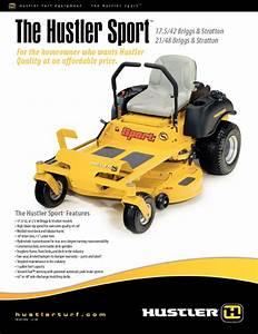 The Hustler Sport 21  48 Manuals