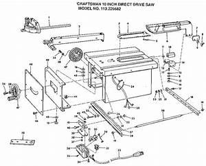 Craftsman Saw Parts