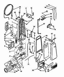 Kenmore Model 1163491291 Vacuum  Upright Genuine Parts