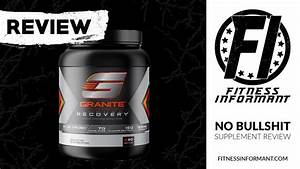 Granite Supplements Recovery Review  Recovery And Growth Supplement