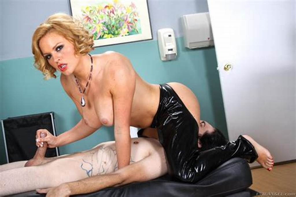 #Full #Titted #Blonde #In #Latex #Outfit #Krissy #Lynn #Has #A #Guy