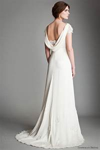 wedding dress cowl back With cowl back wedding dress