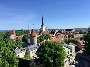 Old, Town, Tallinn, Estonia