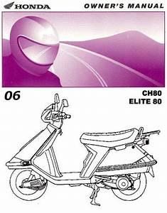 32 Honda Elite 80 Parts Diagram