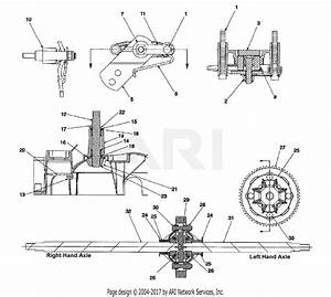 Mtd 14bj848h131  2002  Parts Diagram For Differential  U0026 Axle