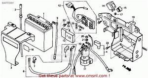 Honda Cmx250c Rebel 1985  F  Usa California Battery