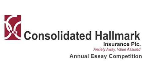 Consolidated hallmark group records 12% growth in gross premium written. Consolidated Hallmark Insurance Plc Annual Essay Competition 2020 - Hotjobsng