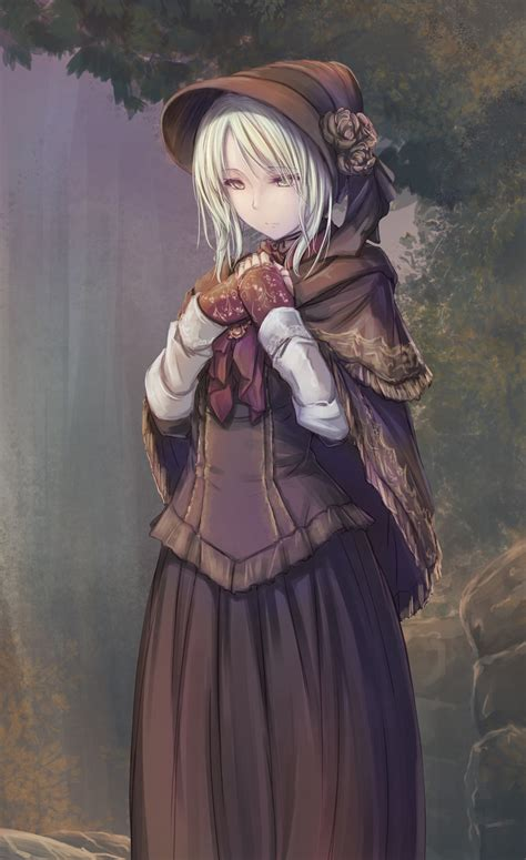 Welcome home,good hunter.what is it you desire? plain doll (bloodborne) drawn by tenmaso - Danbooru
