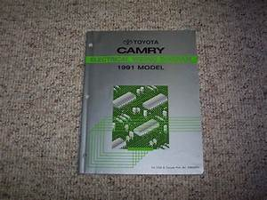 1991 Toyota Camry Electrical Wiring Diagram Manual