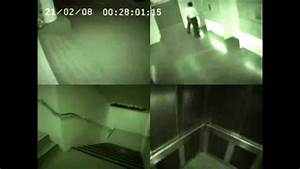 Ghost Caught On Elevator Surveillance Camera