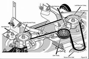 29 Murray Lawn Mower Belt Diagram 46 Inch