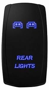 Ledmircy Led Rock Lights Blue Kit For Jeep Off Road Truck