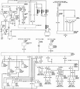 1990 Toyota Hilux Wiring Diagram