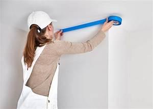 Wand Stellenweise Streichen : bergang von der decke zur wand streichen ideen ~ Watch28wear.com Haus und Dekorationen