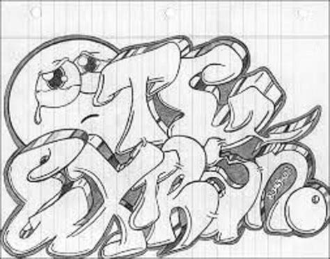 Graffitis de Te Extraño Graffitis a lapiz Plantillas