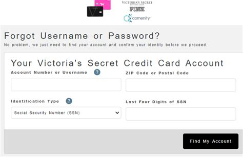 If no method of payment is provided and your exchange results in a balance due, the original credit card will be charged for any balance due. https://www.victoriassecret.com/us/credit-card - Access Your Victoria's Secret Credit Card Account