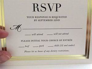 this wedding rsvp card is going viral thanks to a With wedding invitations without rsvp cards