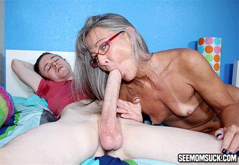 She Seduces Him And Swallows His Gigantic Dick