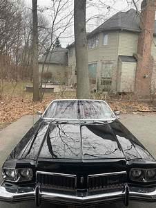 1973 Oldsmobile Delta 88 Convertible Black Rwd Automatic