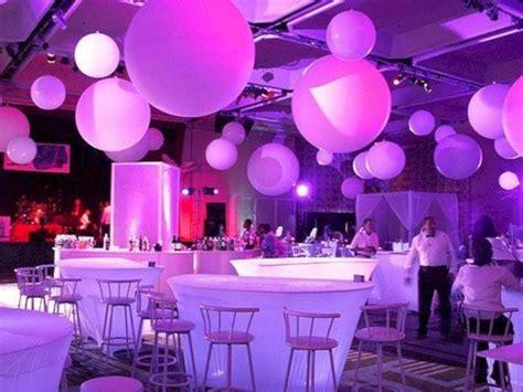 Purple Party Theme Ideas 45 Futuristic party Elegant