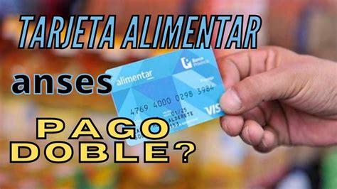La tarjeta alimentaria la creo el actual presidente de la nación, alberto fernández, en cuanto asumió al poder. TARJETA ALIMENTAR ANSES PAGO DOBLE - YouTube