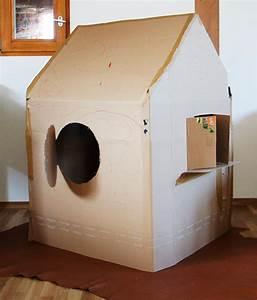 Haus Bausatz Zum Selberbauen : kinderhaus aus pappe pappkarton spielhaus und spielh uschen aus karton ~ Whattoseeinmadrid.com Haus und Dekorationen
