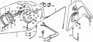 Honda Atv 1979 Oem Parts Diagram For Wire Harness